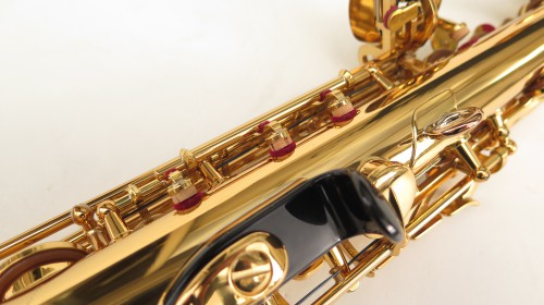 Saxophone soprano Yamaha YSS82ZR verni gravé (1)
