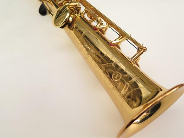 Saxophone soprano Yamaha YSS82ZR verni gravé (10)