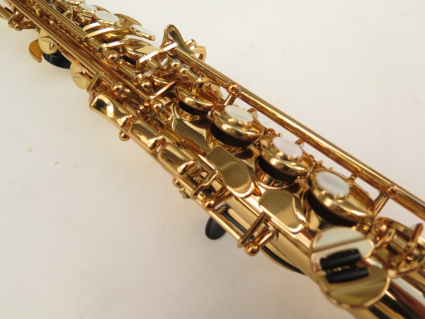 Saxophone soprano Yamaha YSS82ZR verni gravé (11)