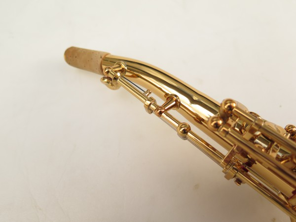 Saxophone soprano Yamaha YSS82ZR verni gravé (12)