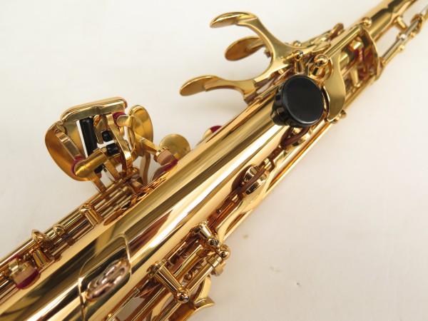 Saxophone soprano Yamaha YSS82ZR verni gravé (2)