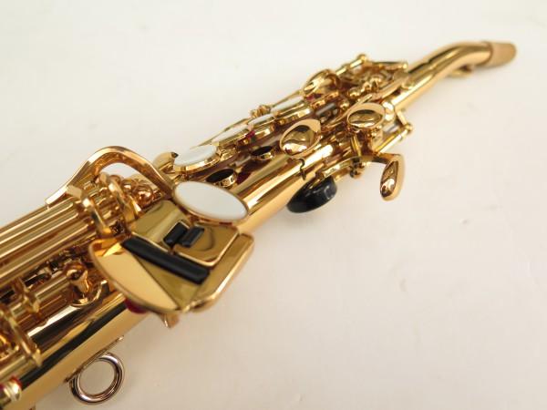 Saxophone soprano Yamaha YSS82ZR verni gravé (3)