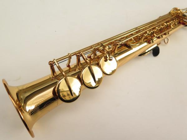 Saxophone soprano Yamaha YSS82ZR verni gravé (4)