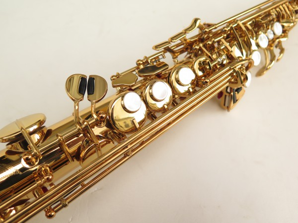 Saxophone soprano Yamaha YSS82ZR verni gravé (5)