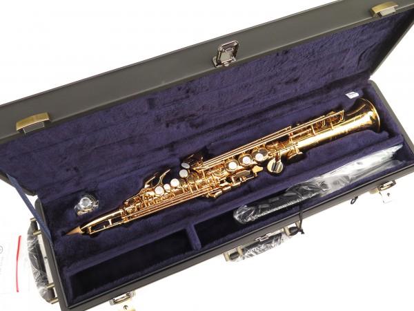 Saxophone soprano Yamaha YSS82ZR verni gravé (6)