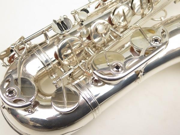 Saxophone ténor Selmer Mark 6 argenté (1)