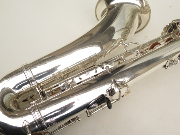 Saxophone ténor Selmer Mark 6 argenté (23)