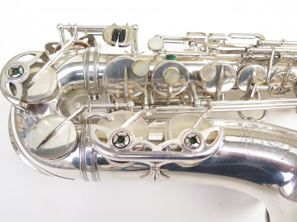 Saxophone alto Selmer Super Balanced Action argenté (10)