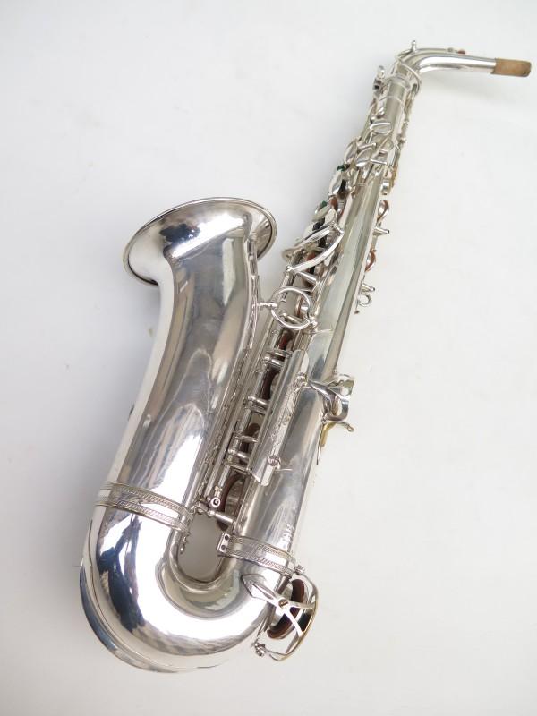 Saxophone alto Selmer Super Balanced Action argenté (3)