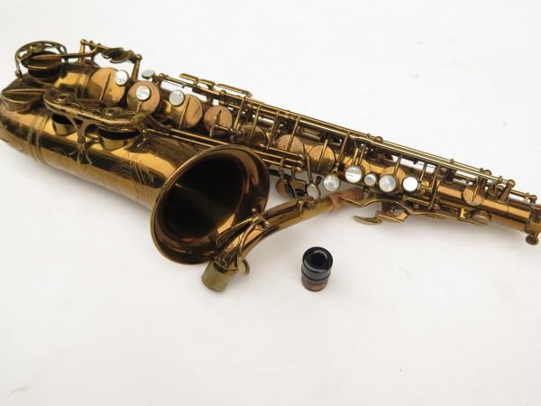 Saxophone alto Selmer Super Balanced Action verni gravé (16)