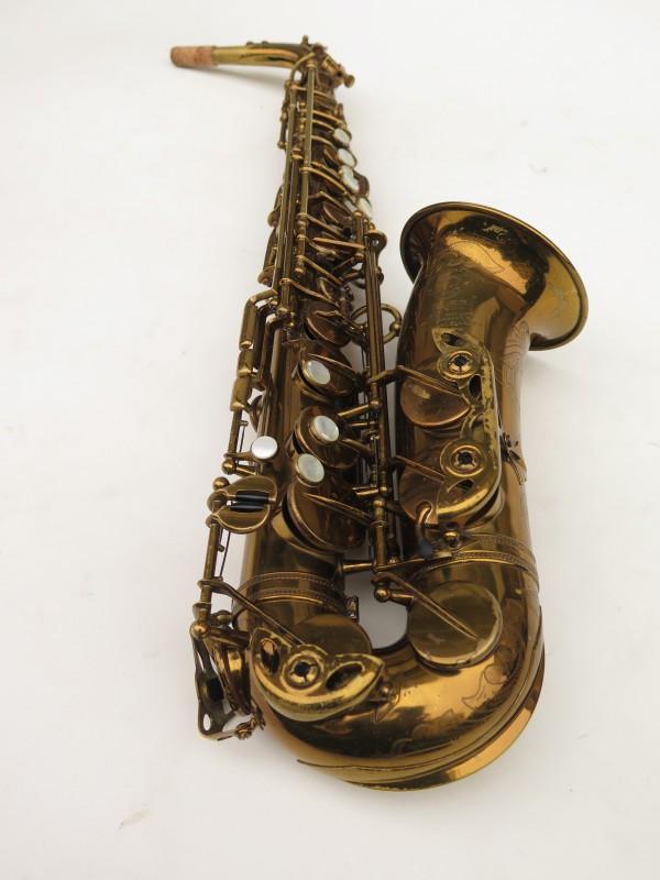 Saxophone alto Selmer Super Balanced Action verni gravé (17)