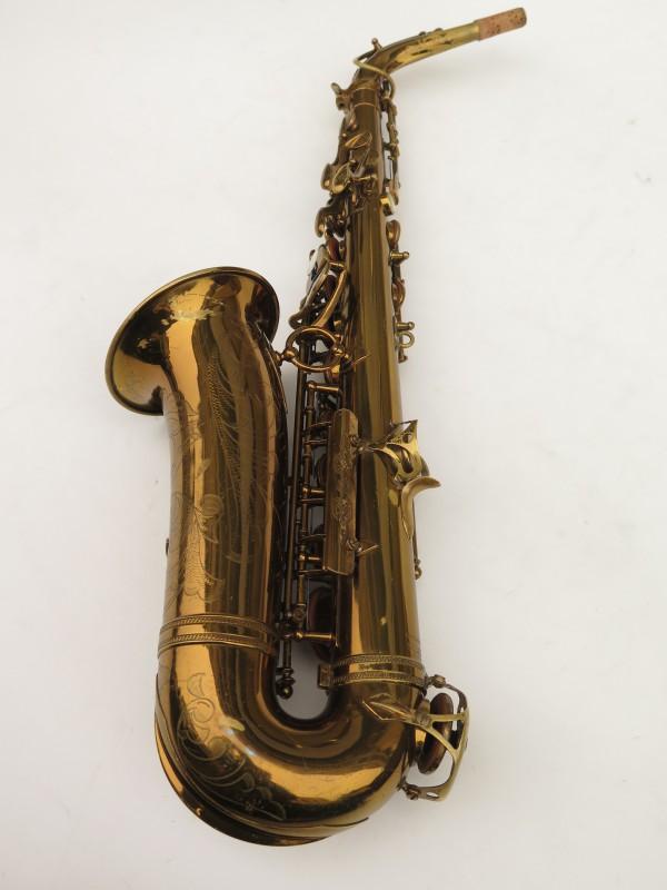 Saxophone alto Selmer Super Balanced Action verni gravé (18)