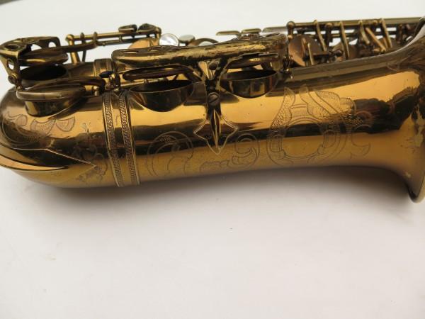 Saxophone alto Selmer Super Balanced Action verni gravé (2)