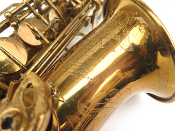 Saxophone alto Selmer Super Balanced Action verni gravé (3)