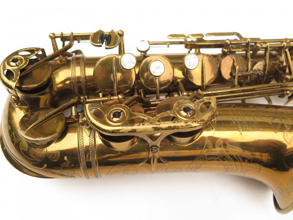 Saxophone alto Selmer Super Balanced Action verni gravé (4)
