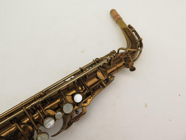 Saxophone alto Selmer Super Balanced Action verni gravé (5)