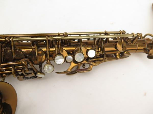 Saxophone alto Selmer Super Balanced Action verni gravé (6)