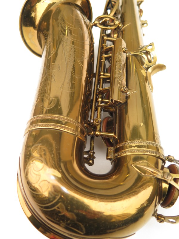 Saxophone alto Selmer Super Balanced Action verni gravé (9)
