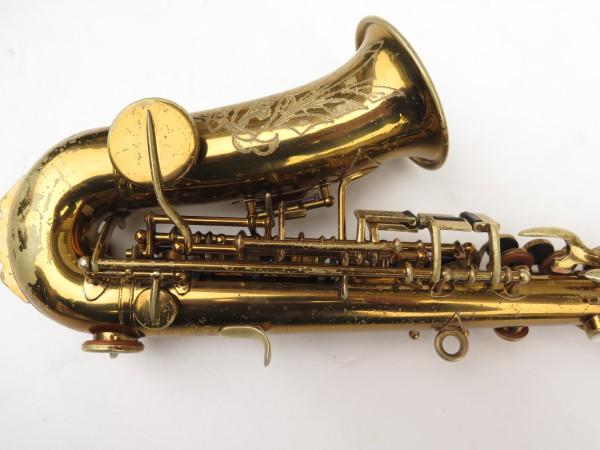Saxophone soprano courbe Buescher True Tone verni (1)
