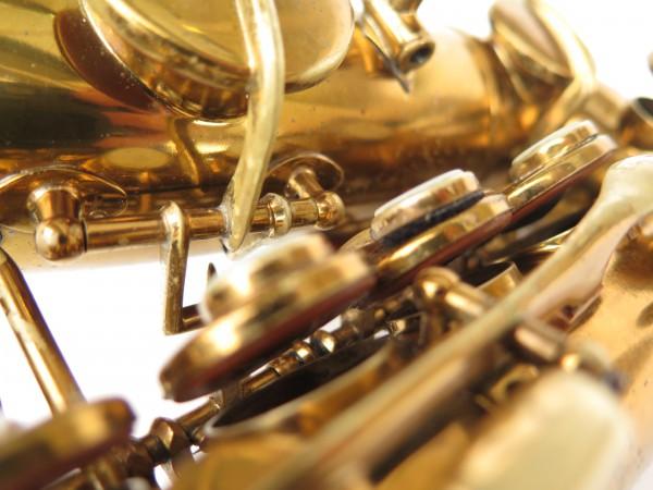 Saxophone soprano courbe Buescher True Tone verni (3)