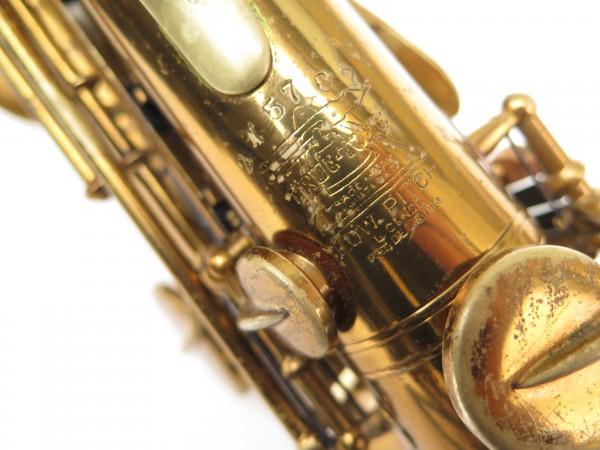 Saxophone soprano courbe Buescher True Tone verni (7)