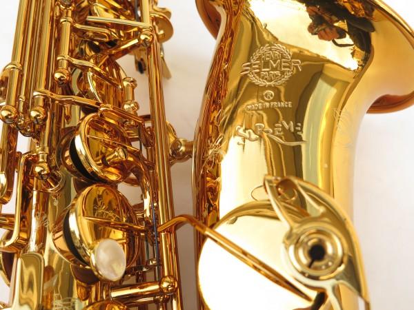 Saxophone alto Selmer Supreme verni gravé (1)