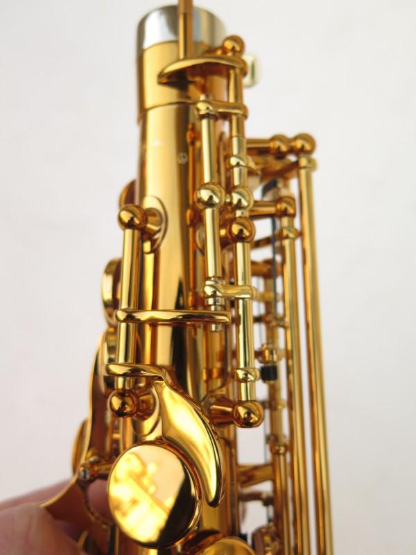 Saxophone alto Selmer Supreme verni gravé (12)