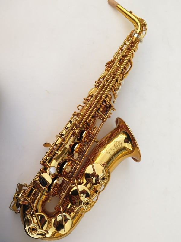 Saxophone alto Selmer Supreme verni gravé (8)