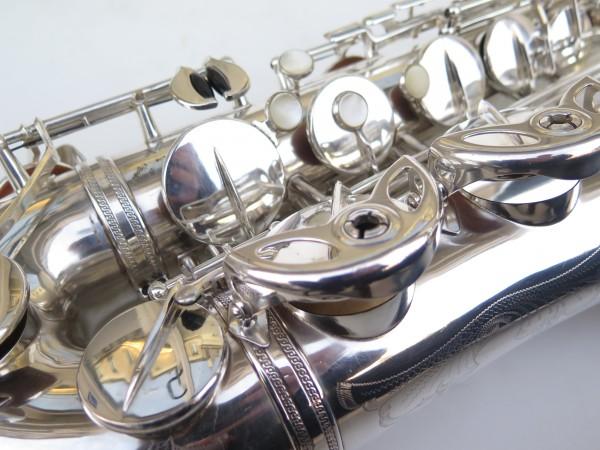 Saxophone ténor Selmer Super Balanced Action argenté gravé (1)