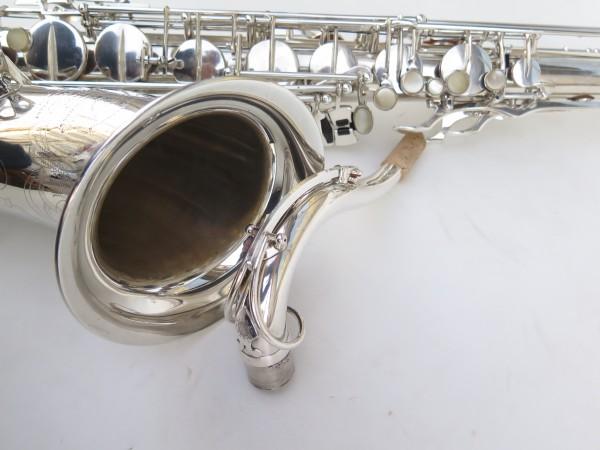 Saxophone ténor Selmer Super Balanced Action argenté gravé (13)