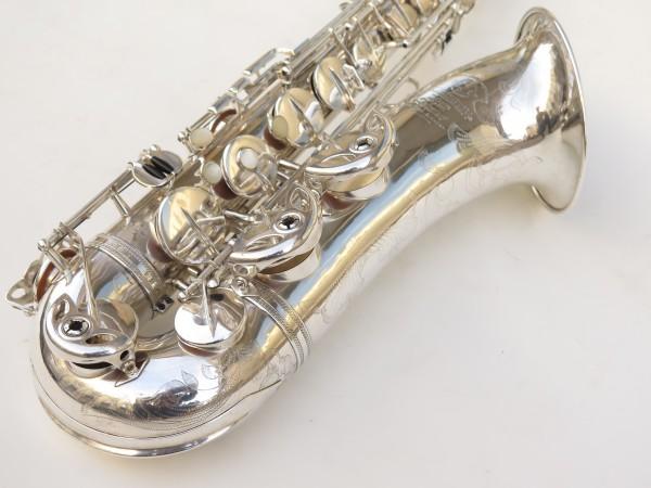 Saxophone ténor Selmer Super Balanced Action argenté gravé (14)