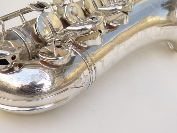 Saxophone ténor Selmer Super Balanced Action argenté gravé (16)