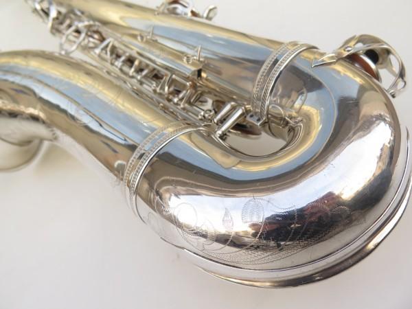 Saxophone ténor Selmer Super Balanced Action argenté gravé (17)