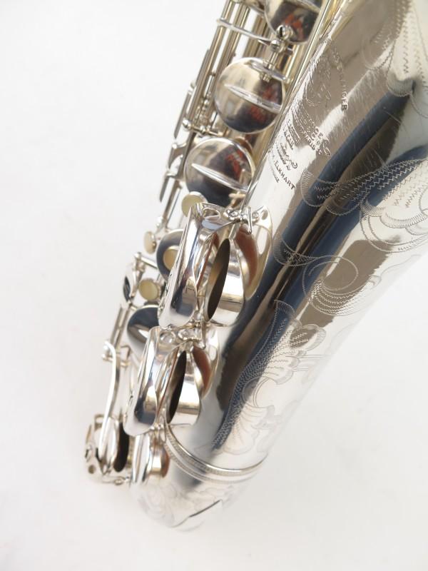 Saxophone ténor Selmer Super Balanced Action argenté gravé (18)