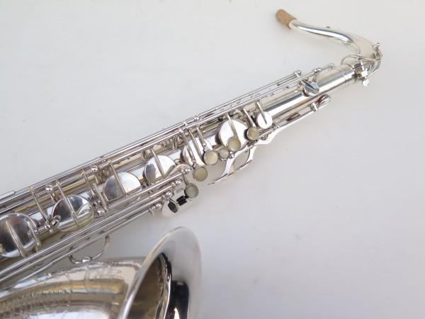 Saxophone ténor Selmer Super Balanced Action argenté gravé (20)