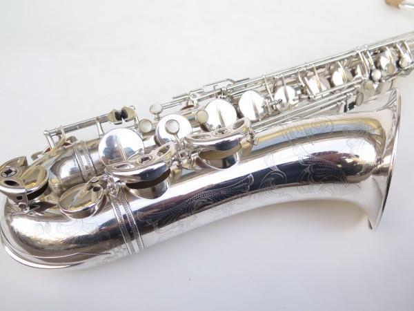 Saxophone ténor Selmer Super Balanced Action argenté gravé (21)