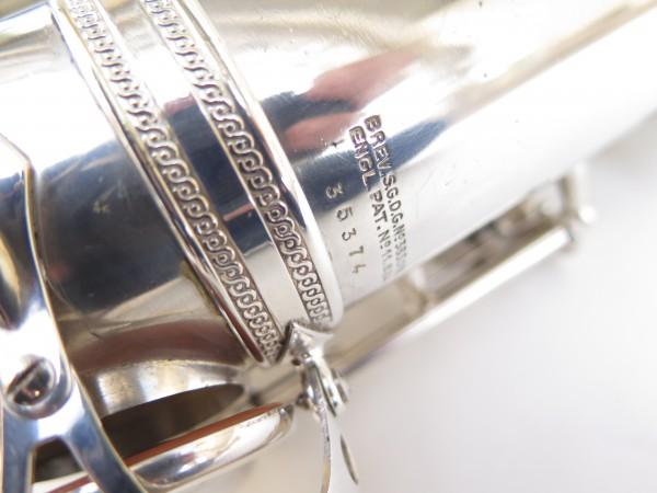 Saxophone ténor Selmer Super Balanced Action argenté gravé (23)