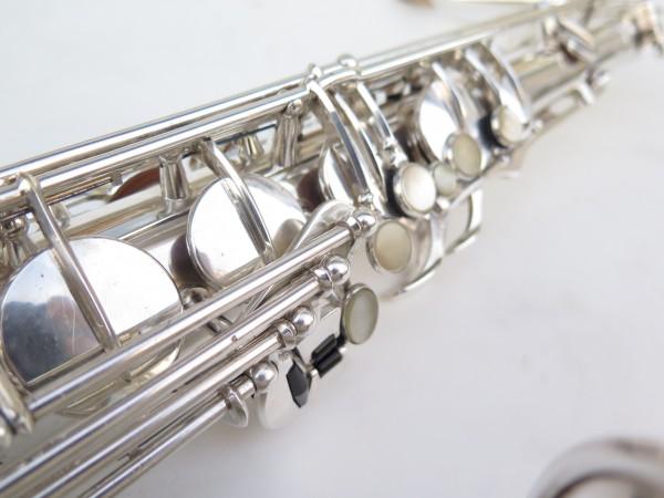 Saxophone ténor Selmer Super Balanced Action argenté gravé (24)