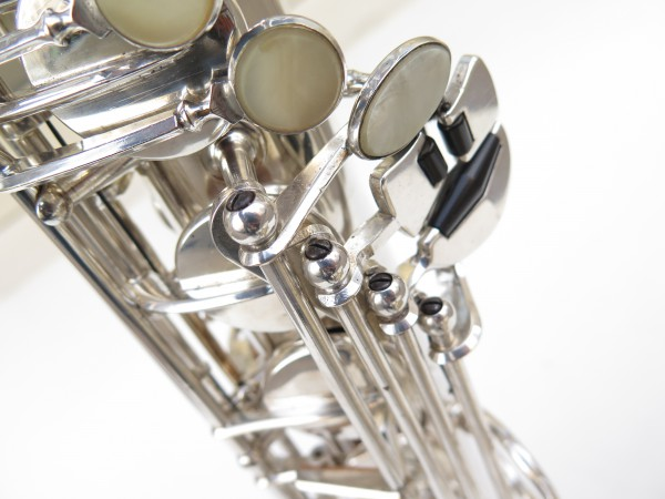 Saxophone ténor Selmer Super Balanced Action argenté gravé (4)