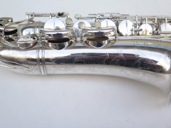 Saxophone ténor Selmer Super Balanced Action argenté gravé (7)