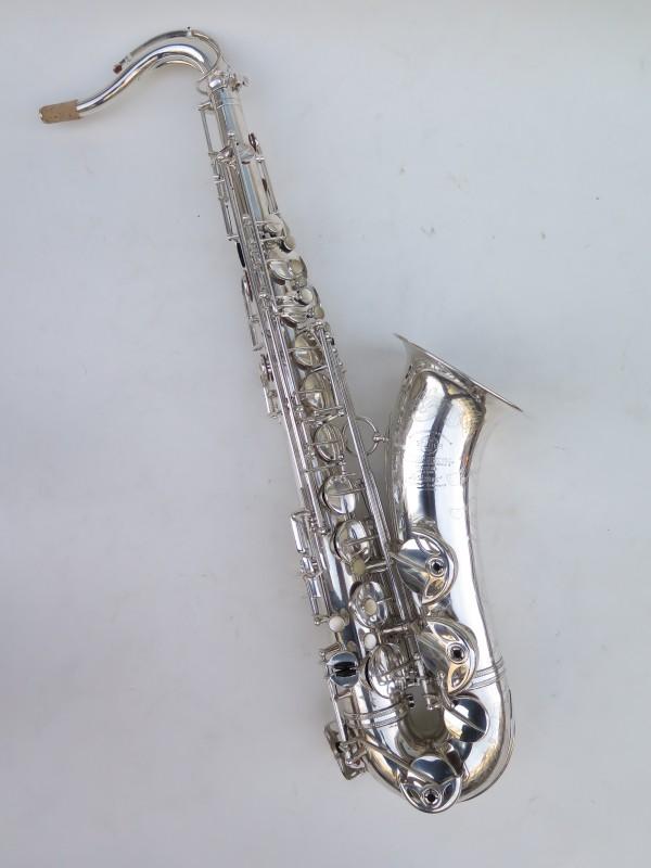 Saxophone ténor Selmer Super Balanced Action argenté gravé (8)