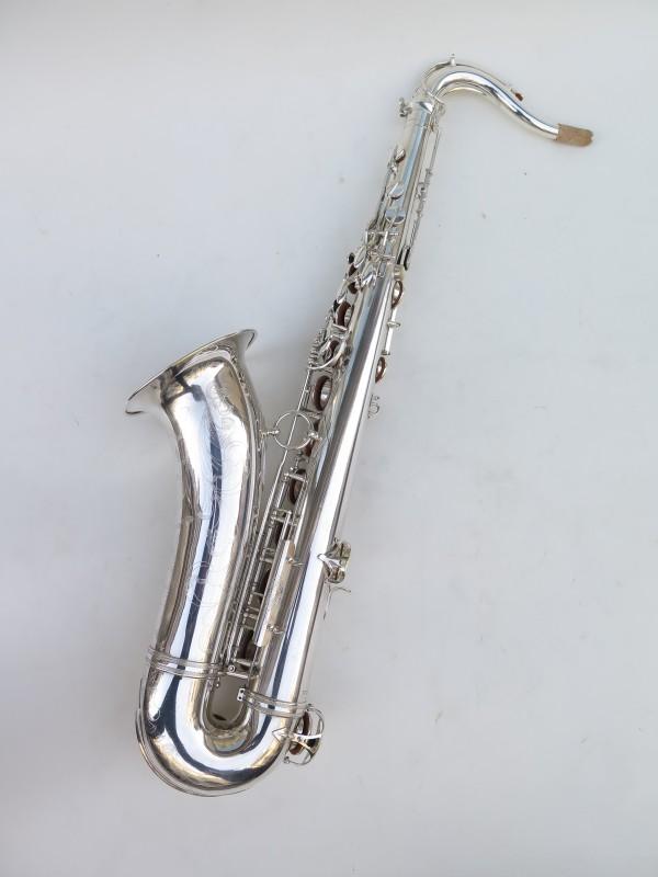 Saxophone ténor Selmer Super Balanced Action argenté gravé (9)