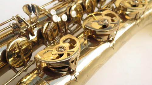 Saxophone baryton Buffet Crampon S 1 verni gravé (1)