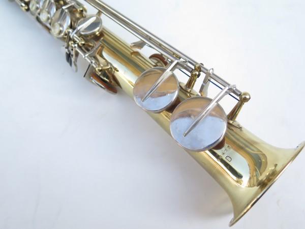Saxophone soprano Couesnon Monopole verni clétage nickelé (10)