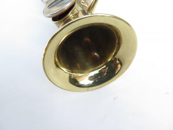 Saxophone soprano Couesnon Monopole verni clétage nickelé (11)