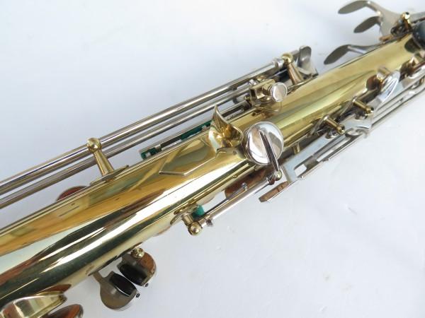 Saxophone soprano Couesnon Monopole verni clétage nickelé (12)