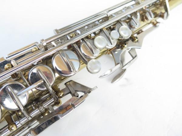 Saxophone soprano Couesnon Monopole verni clétage nickelé (14)