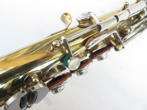 Saxophone soprano Couesnon Monopole verni clétage nickelé (2)