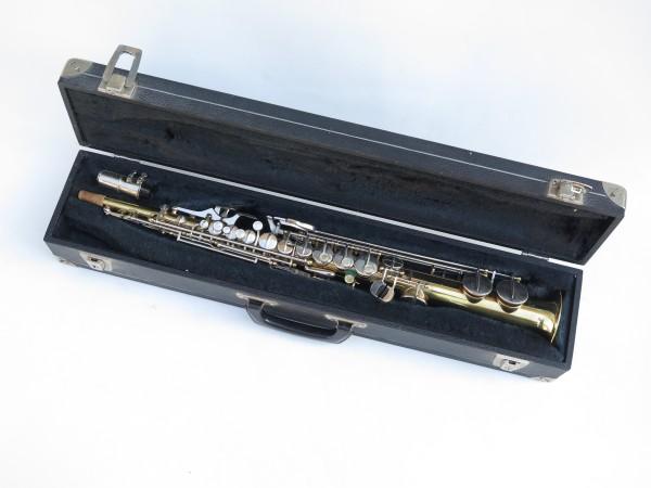 Saxophone soprano Couesnon Monopole verni clétage nickelé (3)