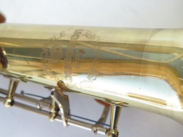 Saxophone soprano Couesnon Monopole verni clétage nickelé (5)